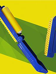 Accesorios de Aseo Cardas Portátil Silicona / Plástico Azul / Amarillo