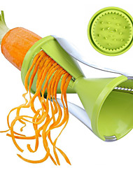 Vegetable Cutter Spiral Slicer Spiralizer kitchen hilfer for Vegetable Salad Noodles Spaghetti Black/Green