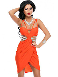 Women's  Luxury Sexiness Tulip Wrap Club Dress