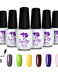 Sexy Mix Soak-off UV Gel Nail Polish Color Gel Nail Varnish Manicure Set