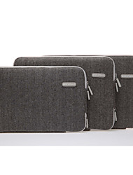 "11.6 ""13.3"" 15.4 ""mochila universal saco pacote de arquivos bolsa de laptop ombro único pasta de lazer para macbook"