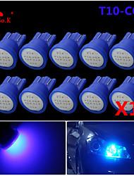 высокой мощности 10 х синий глыбы T10 194 168 главе 12v инструмент тире лампочки