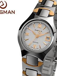 EASMAN® Brand Laides Watches Tungsten Steel Rose Gold Watches Sapphire Glass Quartz Designer Watches For Women Cool Watches Unique Watches
