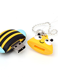 Cartoon Bee Animal USB Flash Drive 16GB