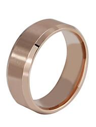 Очаровательный / Для вечеринки / Для офиса / На каждый день - Кольцо-обод (Титановая сталь