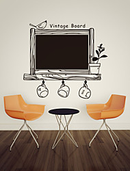 The Blackboard Stick Glass DIY Home Decoration Bedroom Wall Mural Removable Sticker