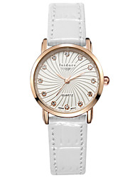 Women's Fashion Genuine Leather Water Proof Wrist Watches