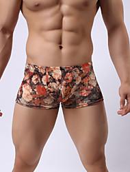 Boxers Pour des hommes Polyester