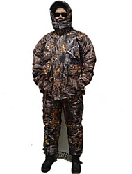 Ourdoor Camouflage Coat Suits Jacket Winter Thickening Camo Suits Clothing for Hunting Fishing(Jacket + Trousers)