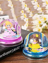 flor princesa caneta óleo duplo orifício inserir os artefactos para guarnição de plástico de mesa (cor aleatória)