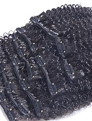 """Extensions de cheveux humains Cheveux humains 100-120 10""""24"""" Extension des cheveux"""