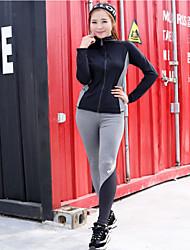 Winter Yoga Suits The New Korean Outdoor Fitness Suit Yoga Pants + Yoga Tops Yoga Suits Yoga Clothes