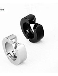 Top Quality Men's Titanium Steel Earring (1PC,Width :6mm)