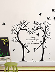 Wall Stickers Wall Decals, Tree PVC Wall Stickers