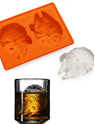 Licensed Star Wars Millennium Falcon Silicone Ice or Chocolate Mould