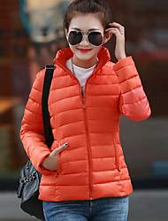 Women trendy Casual slim hooded Ultra Light Cotton Down Jacket Female slim Parka Ladies Jacket and Coat plus size