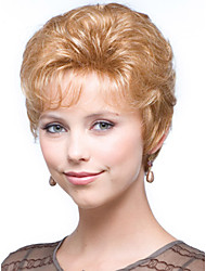 European Women Lady Lovely Wig  Blonde Syntheic Wave  Wig