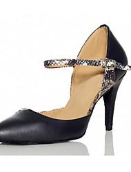 Zapatos de baile ( Negro ) - Latino / Salsa - No Personalizable - Tacón de estilete