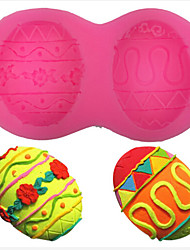 Easter Egg Chocolate Decor Food Grade Silicone Mold Candy Cake DIY Tools