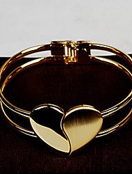 Goud / Legering Dames Chain / Ronde Armbanden Armbanden Geen Steen