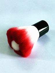 Small Red Flowers Blush Brush