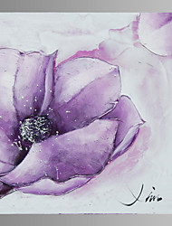 Purple Flower Canvas Print Form Ready to Hang