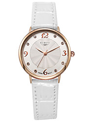 Women's Fashion Genuine Leather Water Resistant Wrist Watches Cool Watches Unique Watches