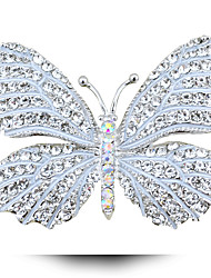 gotas doce broche borboleta broche de diamante do sexo feminino de petróleo
