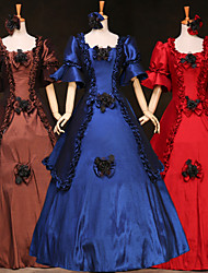 Steampunk®Cheap Long Sleeves Princess Dress Victorian Party Dress Royal Party Long Prom Dresses