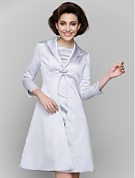 Women's Wrap Coats/Jackets Satin Wedding / Party/Evening