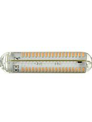 12W R7S LED a pannocchia Modifica per attacco al soffitto 152 SMD 4014 800-900 lm Bianco caldo Intensità regolabile / DecorativoAC
