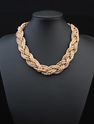 Women's Choker Necklaces Chain Necklaces Alloy Fashion Jewelry Wedding Party Daily Casual 1pc