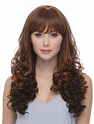 New Arrival Syntheic Wave  Wig Extensions Elegant Bang Of  Wave Wig