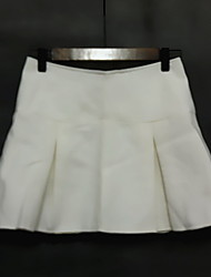 Ms Fashion Simple Woolen Skirt Skirts