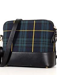 Women PU Baguette Shoulder Bag / Tote - Green