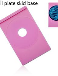 1Pcs Nail Plate Skid Base The Circular Template Base