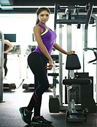 Yoga Sets A Long Section Of Outdoor Fluorescent Color Yoga Pants + Yoga Tops Yoga Suits Yoga Clothes Yoga Suit Vest