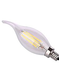 ywxlight® e12 8w 4 * початка 640 лм теплый белый / натуральный белый водить свечки луковицы AC 110-130 v