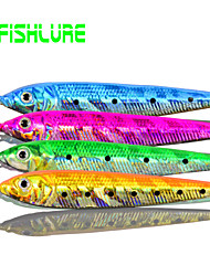 "Afishlure Lead Fish Jig Artificial Hard Bait 30g Metal Bait Jigs 30g 1Ounce 84mm 3-5/16"" inch 4 pcs Sea Fishing"