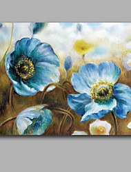 Pastorale Style Floral Oil Painting Handmade Stretched Free Shiping