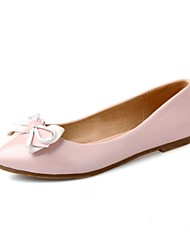 Girls' Shoes Outdoor / Party & Evening / Athletic / Dress / Casual Round Toe Leatherette Flats Blue / Pink / White