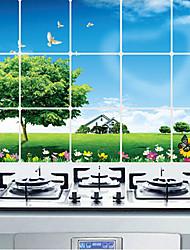 кухня маслостойкое наклейки защиты, алюминий