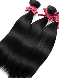Brazilian Virgin Hair Silky Straight Extensions Top Grade Brazilian Remy Human Hair Weaving Bundles 3pcs/lot