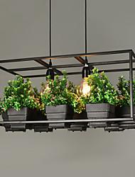 MAX 40W Lampe suspendue ,  Traditionnel/Classique Peintures Fonctionnalité for Style mini MétalSalle de séjour / Chambre à coucher /