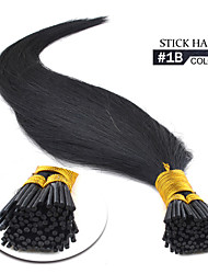 "i tip hair extensions 1b 16""-24"" inches in stock"