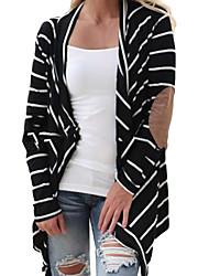 Women's Patchwork Black Shirt , Halter Long Sleeve
