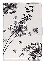 pissenlit cuir Folio Stand cas de couverture avec support pour iPad mini-3/2/1