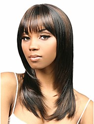 European Women Lady Beautiful Style Synthetic Blend Color Hair Wigs