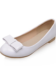 Women's Shoes Flat Heel Comfort / Round Toe Flats Wedding / Outdoor / Dress / Casual Black / Red / White