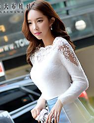 Wonmen's white sexy bodycon sweaters